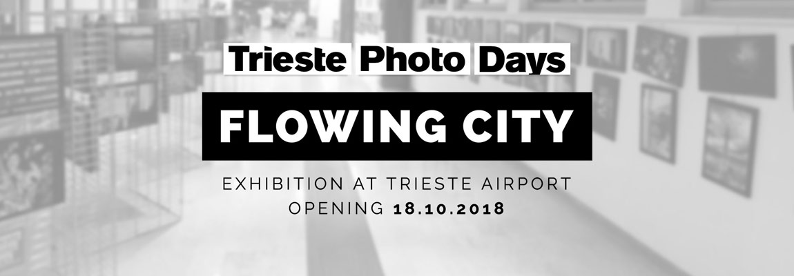 """Flowing City"" exhibition opening in Trieste Airport on 18 October 2018"